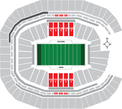 Mercedes Benz Stadium Seating Chart 2019 Super Bowl Tickets Packages Lower Level Seats