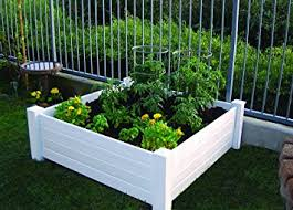 box garden. NuVue Products Raised 48 By 15-Inch Garden Box Kit, Extra Tall K