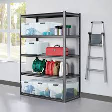 step beam heavy duty storage shelf rack