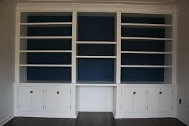diy office built in bookshelf wall bookshelves shelves shelf