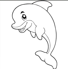 The dolphin coloring pages are thus immensely popular among young kids who count them among the favorite indulgences. Dolphin Images For Coloring Www Robertdee Org