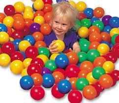 "49600 INTEX Ball Toyz Fun Ballz (3.8"") 8CM X <b>100 Pcs Plastic</b> Balls ..."