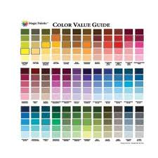 Ceramcoat Color Chart The Beginners Color Chart