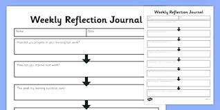 Work Diary Template Figure 6 Example Template For A Learning Journal Templates Students