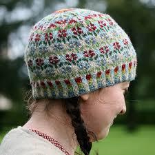 Rowan Fine Tweed Colour Chart Kate Davies Peerie Flooers Hat