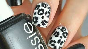Black Nail Designs 2018 10 Latest Leopard Print Nail Art Designs With Images