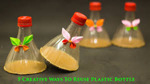 Plastic Bottle Decoration Video 100 Creative Ways to Reuse and Recycle Plastic Bottles YouTube 2