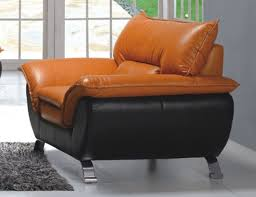 comfortable chairs for living room. Comfortable And Half Leather Living Room Arm Chair 3411 Chairs For R