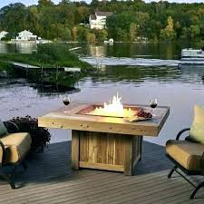 best gas fire pit tables good propane fireplace outdoor for coffee table vintage canada recta