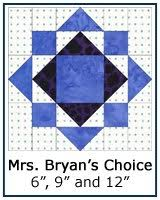 Free Paper Piecing Patterns Library & ... Mrs. Bryan's Choice quilt block tutorial ... Adamdwight.com