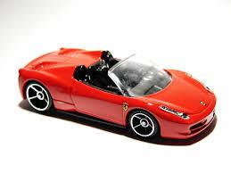 1 positive , low miles; Ferrari 458 Spider Hot Wheels Wiki Fandom
