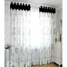 black and white curtains striped vertical shower curtain target checd panels