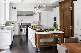View In Gallery Combine The Rolling Island With The Traditional Kitchen  Island In An Elegant Manner · Kitchen Island Design Ideas ...