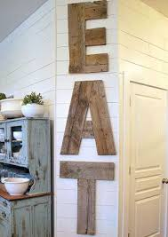 4. Country Diner Barn Wood Kitchen Sign
