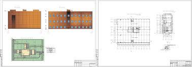 Курсовые и дипломные проекты промышленные здания скачать dwg  Курсовой проект Промышленное здание для размещения цеха точного приборостроения 54 х 72 м