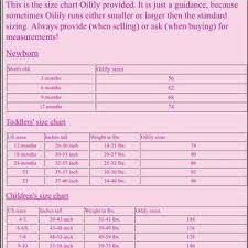 Oilily Size Chart Girls 2019