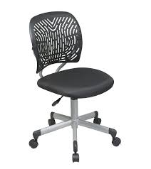 plastic desk chair. Amazon.com: Office Star Designer Task Chair In Fabric And Plastic Back, Black: Kitchen \u0026 Dining Desk