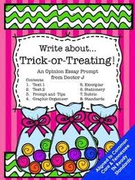 halloween costumes opinion essay writing prompt common core tn halloween trick or treat opinion essay common core tn ready aligned