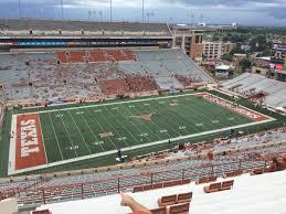 Dkr Texas Memorial Stadium Section 107 Rateyourseats Com