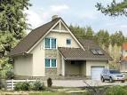 Загородные дома и коттеджи фото с гаражом