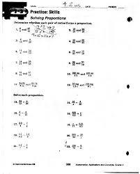 Math. Ratio And Proportion Worksheets: Ratio Proportion And Percent ...