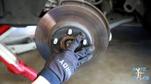 2010-2015 Toyota Prius Front brake pads and rotors remove and ...