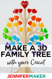 Making A Family Tree For Free 3d Family Tree From Wood Or Paper Jennifer Maker