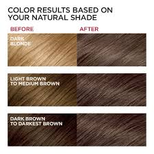Loreal Ash Color Chart Loreal Paris Excellence Creme Permanent Hair Color 5ab Mocha Ashe Brown 1 Count Kit 100 Gray Coverage Hair Dye