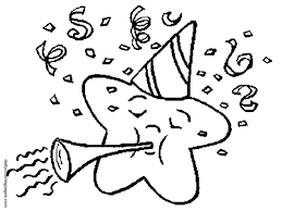 Small Picture New Years Day Coloring Pages Coloring Home