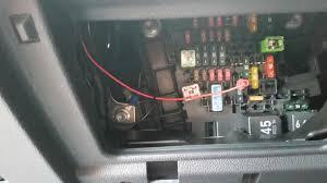 vwvortex com radar detector hardwiring wiring fusebox 2012 vw golf fuse box diagram at Mk6 Gti Fuse Box