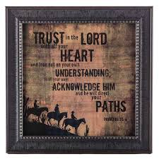 hobby crafts decor trust in the lord western framed wall art on framed western wall art with hobby crafts decor trust in the lord western framed wall art