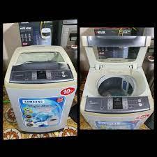 Bán Máy Giặt Cũ Tại Hà Nội - Máy giặt Samsung 10kg . 🛑💰 Giá : 2tr500k Máy  chạy khỏe, vắt khô vận hành êm ái . Hình thức đẹp. Bảo hành :