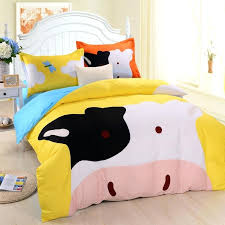 animal toddler bedding cotton children bedding kingdom cartoon fitted cow fitted bed covers textiles in bedding