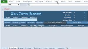 Easy Invoice Maker Best Excel VBA Invoice Generator Easy Invoice Generator Online PC