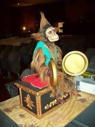 The phantom of the opera. Monkey Music Box From Phantom Of The Opera Broadway Replica Remote Controlled 1010028333