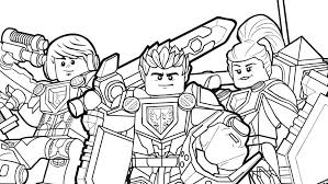 Obsession Nexo Knight Coloring Pages Nexo Knights Heroes Formation