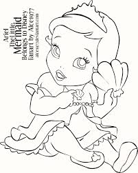 Small Picture Rapunzel Mermaid Coloring Pages Coloring Pages