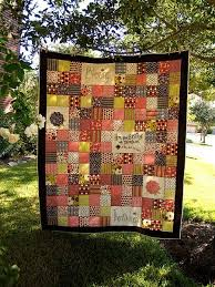 Homemade Blessings Patchwork Quilt | FaveQuilts.com & Homemade Blessings Patchwork Quilt Adamdwight.com
