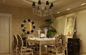 european style chandeliers and dining table