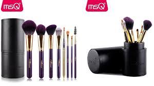 best affordable makeup brushes set 2017 msq 8pcs pro makeup brushes set