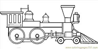 Small Picture Train Coloring Pages Free FunyColoring