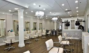 beauty salon lighting. maxlite led lamps help hair salon highlight its services beauty lighting