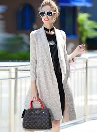 chic erfly print belted trench coat