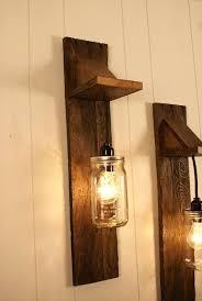 mason jar light kit for ceiling fan pair of reclaimed wooden chandelier wall mount fixture mason jar light kit for ceiling fan lights chandelier
