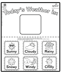 weather worksheets for kindergarten free – egyptcities.info