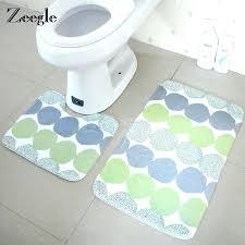 bathroom mats bath set top