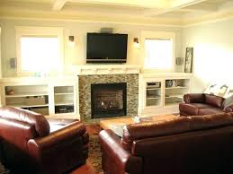 fireplace designs with tv above fireplaces 5 cool ideas on home stone design
