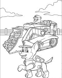 Skye Paw Patrol Coloring Pages Coloring Pages For Everyone