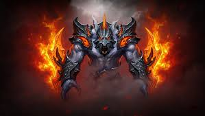 picture dota 2 ursa warrior armour monsters fantasy fire games