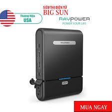 Sạc dự phòng cho Laptop RAVPower PB055 27000mAh-Thương hiệu USA- HÀNG CHÍNH  HÃNG - Pin Sạc Dự Phòng Di Động
